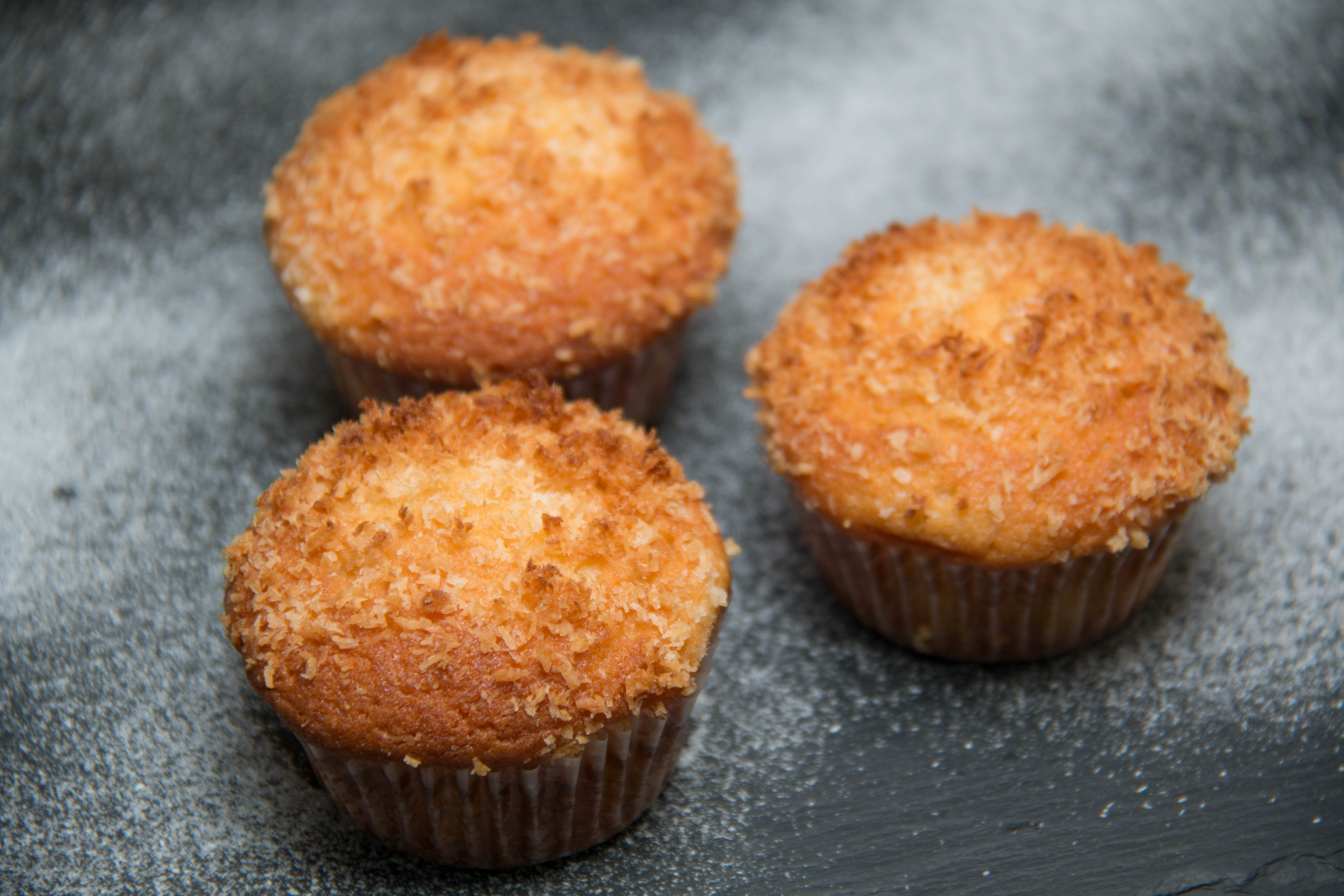 Muffin coconut